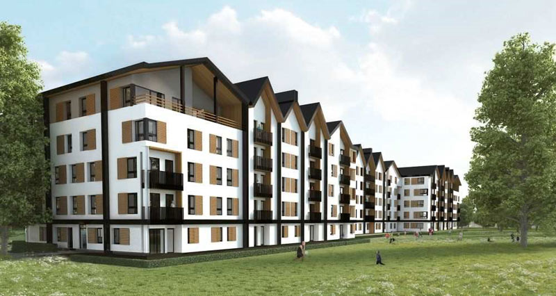 140 logements HLM bas carbone Docks de Ris