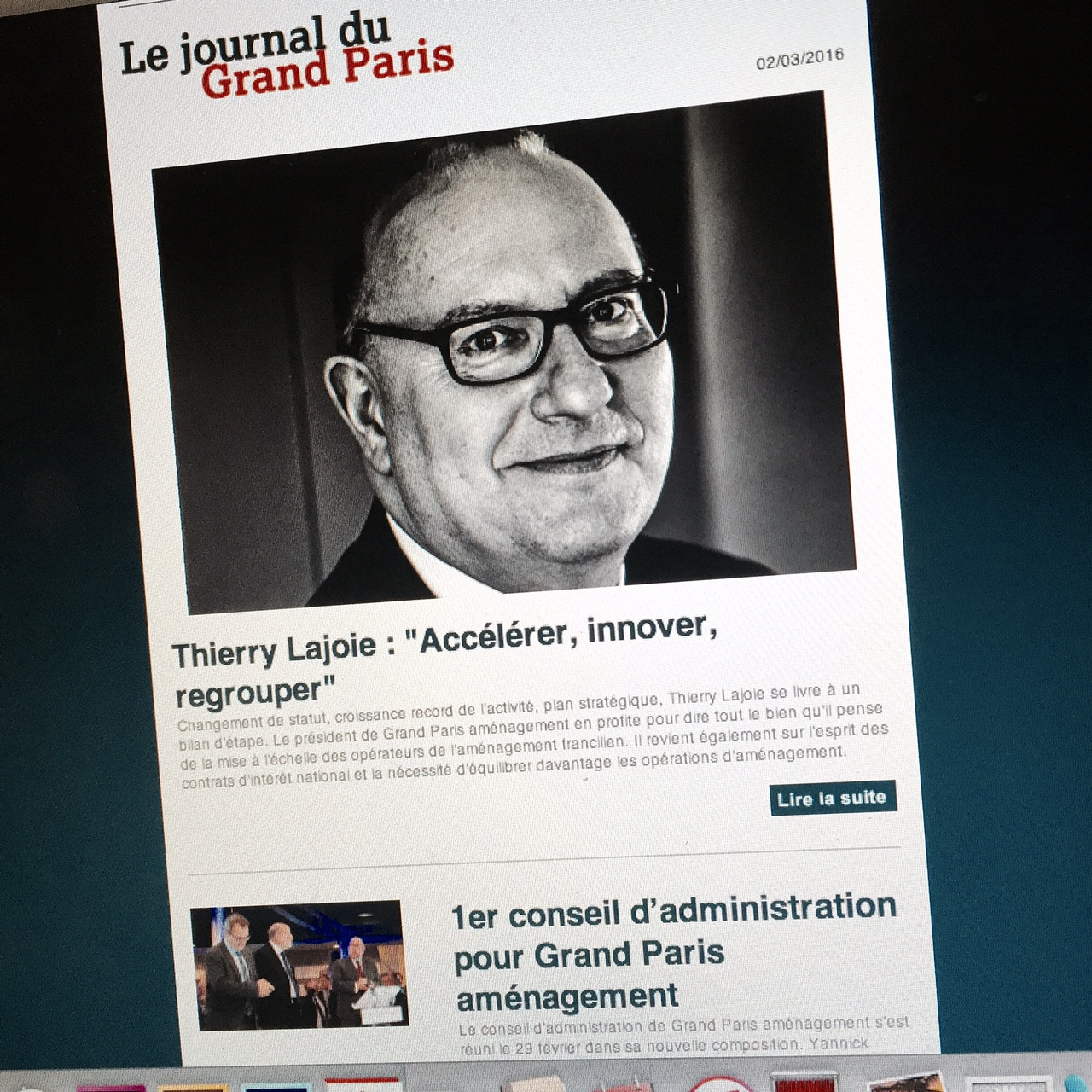 Accélérer innover regrouper ITV Thierry Lajoie
