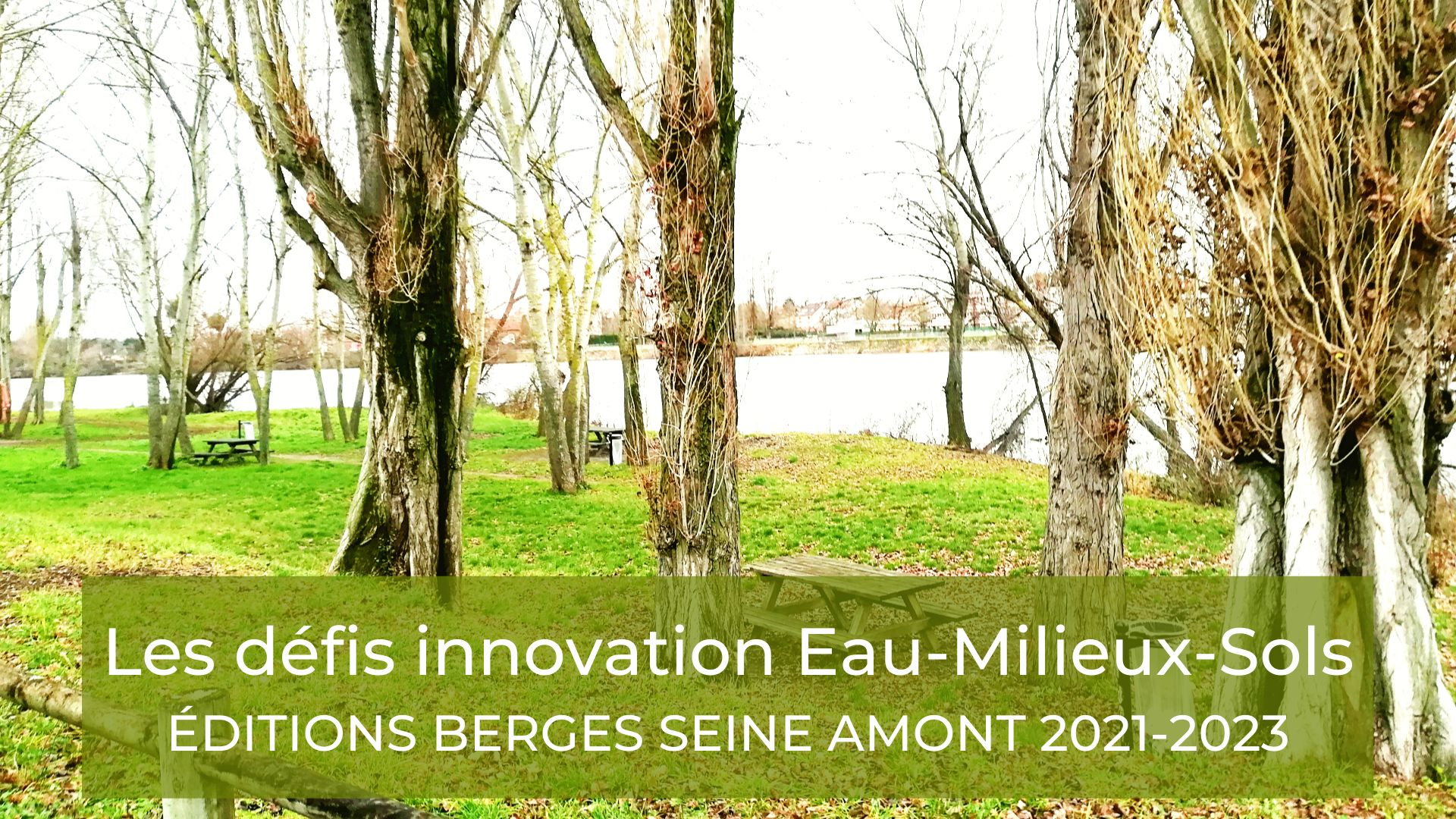Les Défis Innovation des Berges Paris Seine Amont